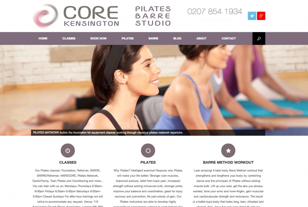 Core Kensington - Pilates Barre Studio