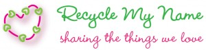 Recycle My Name: Logo, tagline, branding