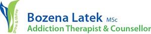 grow & thrive Bozena Latek MSc Addiction Therapist &Counsellor