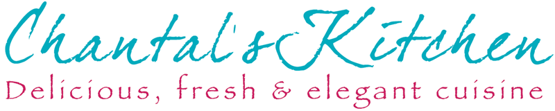 Chantal's Kitchen. Logo and website design.